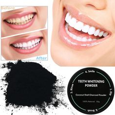 Best Deal New Fashion Black 60g Teeth Whitening Powder Natural Organic Activated Bamboo charcoal Toothpaste Powder 1pc #Affiliate