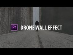 Premiere Pro: Drone Wall Effect! Motion Design, Adobe After Effects Tutorials, Effects Photoshop, Adobe Photoshop, Vfx Tutorial, Photoshop Tutorial, Beau Film, Video Editing, Photo Editing