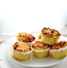These easy, light gluten free coconut apple muffins are the perfect breakfast, healthier dessert or low sugar snack anytime. Healthy Dessert Recipes, Brunch Recipes, Desserts, Gluten Free Treats, Gluten Free Recipes, Easy Recipes, Low Sugar Snacks, Biscuits, Apple Cinnamon Muffins