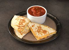 My youngest daughter has a dairy allergy, so we had to find a fun way to get her some quesadillas. These allergy friendly dairy free quesadillas are a really easy recipe to make, and she gobbles them right up. Click the pin for the full recipe.