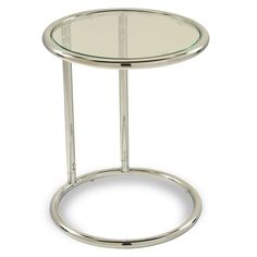 Furniture should be both playful and emotionally comforting. With this New Glass Round Table you will discover that the soft corners invite rather than stiffen, providing a soothing space that is certain to nurture your personal style.