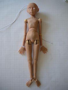 Super Sculpey BJD by Silent Friends, via Flickr
