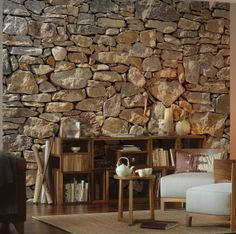 7 Budget-Friend Accent Hacks That can Totally Transform any Room: Stone Accent Walls are Easier Than You Think