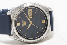 Vintage Seiko 5 Automatic Day-Date 17-Jewels Men's Wrist Watch GS-144