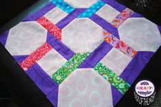 tying the knot quilt block