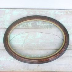 Your place to buy and sell all things handmade Shabby Chic Frames, Shabby Chic Decor, Vintage Photo Frames, Vintage Photos, Oval Picture Frames, Wire Hangers, Vintage Bridal, Modern Prints, Frames On Wall