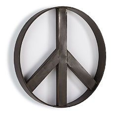 Coastal Decor Peace Sign Wall By Finchnwillowboutique 18 50 Products I Love Pinterest And Walls