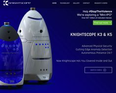 Knightscope security robots K3 and K5