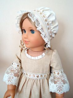 Felicity's Golden Shamrock Colonial Gown by BackInTimeCreations