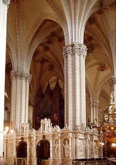 Interior de la Seo de Zaragoza