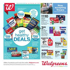 Walgreens Weekly Ad January 8 - 14, 2017 - http://www.olcatalog.com/grocery/walgreens/walgreens-ad.html