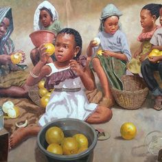 Nigerian artist Oresegun Olumide has set Facebook ablaze. His paintings are beyond paints and pencils.His canvas oil paintings done in 2015 has finally brought him to the lime light.