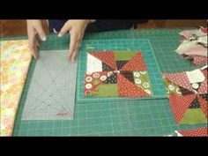 Two quilts from one jelly roll fabric pack and one charm pack.  Terrific tutorial