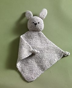 This cuddly bunny makes a great baby gift. (Lion Brand Yarn)