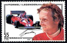 Formula 1, Mercedes Benz, Jochen Rindt, Bruce Mclaren, Postage Stamp Collection, Racing Wheel, Race Racing, Car Car, Postage Stamps