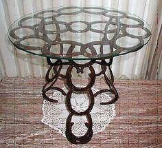 Horseshoe table