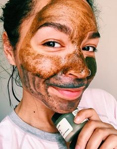 This Is The Multi-Masking Combo I Use When My Skin Is Freaking TF Out  Face Mask  Skincare  Tips #FaceMaskForBlackheads Acne Face Mask, Diy Face Mask, Face Skin, Skin Mask, Multi Masking, Face Mapping, Acne Causes, Peel Off Mask, Homemade Face Masks