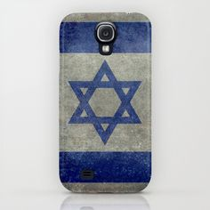 The National flag of the State of Israel - Distressed worn version iPhone & iPod Case