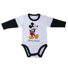 e7de02dc58c Mickey Mouse Baby Boy Romper Baby Outfits Newborn