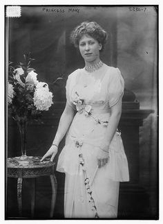 Princess Mary, Princess Royal and Countess of Harewood (1897-1965), the only daughter of King George V and Queen Mary.
