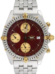 Breitling Chronomat Stainless Steel Watch, 41mm by Breitling at Gilt