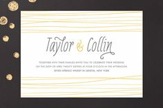 Sand Dunes Wedding Invitations by R studio at minted.com