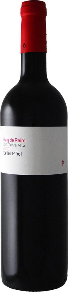 Raig de Raïm 2010, Celler Piñol  D.O. Terra Alta, Spain