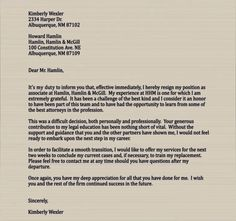 Resignation Letter Samples Letter Of Resignation Template Best Heartfelt Resignation Letter .