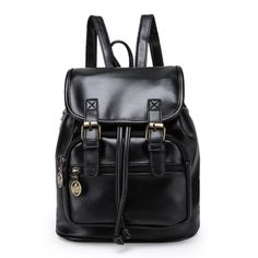 2016 New Vintage Backpack PU leather Fashion School Bags Backpack Travel Backpack  #me #musthave #sweet #inspiring #instacool