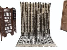 5x9 Wedding rug Large Beni ourain Alfombras berber Beni ourain rug Moroccan rug Design Rug Handmade Rug Azilal rugs boho rug Kilim