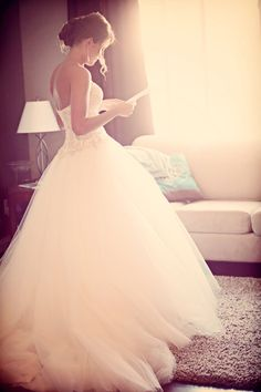 I think I have decided I like the ball gown wedding dresses that have a flowy elegance to it!