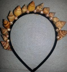 Shell crown Shell tiara Mermaid Mermaid Crown by msformaldehyde, $25.00