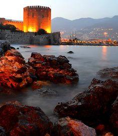 Turkey Flag, Alanya Turkey, Best Places To Travel, Istanbul Turkey, Antalya, Holiday Travel, Explore, World, City