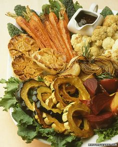 Roasted Winter-Vegetable Composed Salad - Martha Stewart Recipes