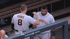 Hunter and Panda have the best handshake ever!! (Gif)
