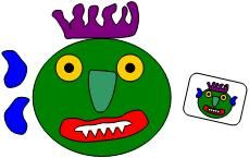 """""""Go Away Big Green Monster"""" printables. I would use these for story retelling."""