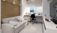 Home office - quarto de visitas