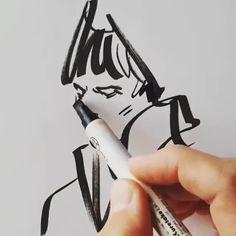 Ferhat Edizkan is a Turkish pencil sketch artist. Ferhat Edizkan is an artist who uses an extraordinary technique in his drawings. Ink Pen Art, Ink Pen Drawings, Sketchbook Drawings, Drawing Sketches, Black Pen Sketches, Sketch Ink, Illustration Mode, Pencil Art, Storyboard