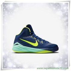 sites de lojas de tenis 654252-400 Nike Hyperdunk 2014 Gym Azul/hiper Turquoise/Volt Masculino