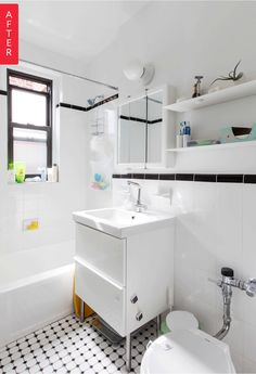 Before & After: A Budget-Friendly Mini-Makeover for a Boring Bathroom — Sweeten