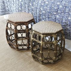 St. Bart's Chair Height Stool by Ballard Designs