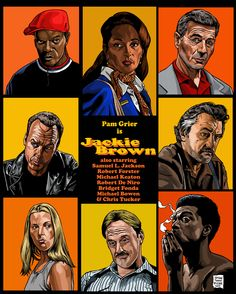Jackie Brown. This was Tarantino's follow up to Pulp Fiction and Reservoir Dogs, which are REALLY hard to top. As such, this movie is under-rated. It stands up well, now that the pressure of expectation is lifted.
