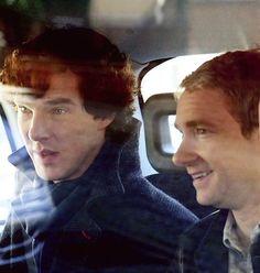 The boys of Baker Street. #Sherlock