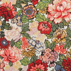 Liberty Fabrics' Royal Peony is lustrously detailed and rich in colour – printed in Liberty's Italian fabric mill, on our inimitable Tana Lawn cotton. Liberty Print, Liberty Fabric, Liberty Scarf, Door Images, Halloween Doodle, Photo Backgrounds, Graphic Illustration, Peonies, Print Patterns
