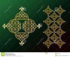 Arabic Ornaments Royalty Free Stock Photos - Image: 6242388