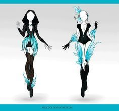 (CLOSED) Adoptable Outfit Auction 38 by Risoluce on DeviantArt