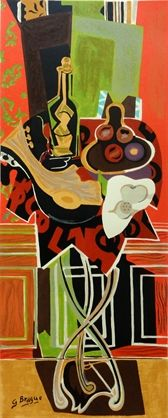Still Life with Fruits by Georges Braque