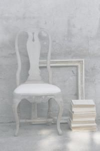 Whites maybe paint Veda's old chairs for bedroom dressing tables/desks
