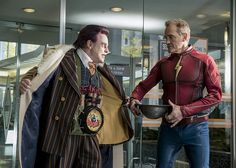 "The Flash ""The Present"" Pics: Jay Garrick vs. The Trickster! | FlashTVNews"