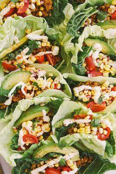 Raw Vegan Tacos | 29 Things Vegetarians Can Make For Dinner That Aren't Pasta